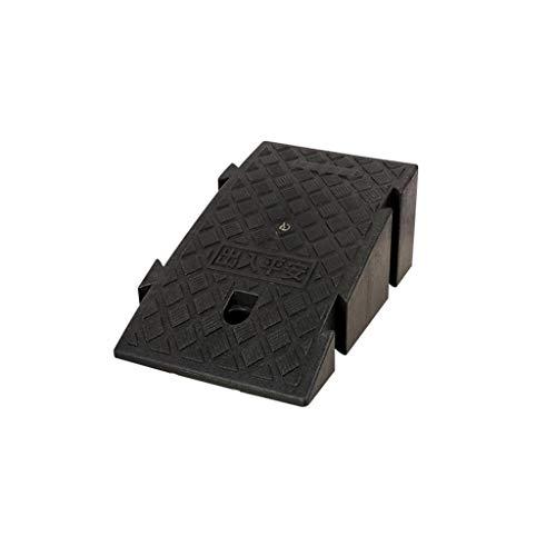 SZQ-Ramps beweegbare velgen, kunststof materiaal gemakkelijk te dragen Kerb Ramps meerdere kleuren Splicable rolstoel oprijplaten pad 45 * 25 * 19CM Zwart