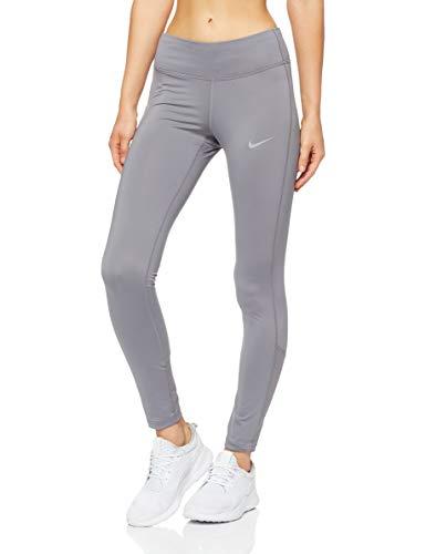 Nike Damen Racer Tights, Grau (Gunsmoke/036), Gr. XL