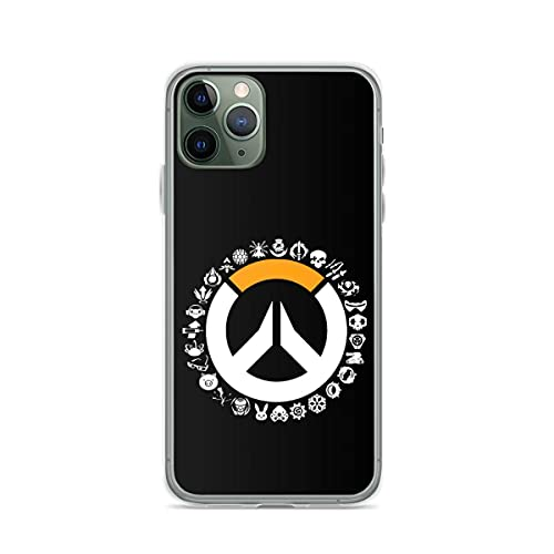 Phone Case Overwatch Compatible with iPhone 12/12 Pro Max Mini 11 Pro max XR SE 2020/7/8 X/Xs 6S Plus Samsung N20 S20 S21 Ultra Plus
