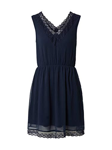 VERO MODA Damen VMPERNILLA LACE SL Short Dress Kleid, Laurel Wreath, M
