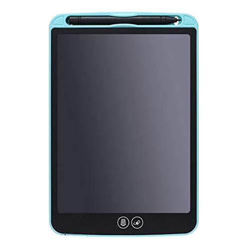 Wivarra Tablero de Escritura a Mano LCD de 8,5 Pulgadas Borrado Parcial de Escritura para NiiOs Tablero de Tableta ElectróNica PortáTil con LáPiz (Azul)