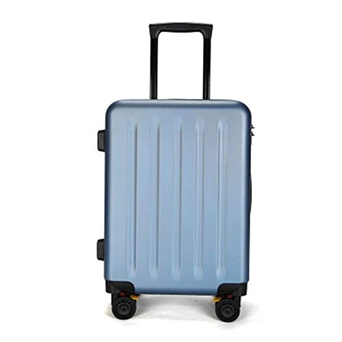 YaGFeng Suitcase 4 Double Rotating Wheel Scratch-resistant Chassis Luggage Universal Wheel Push Customs Lock Luggage (Color : Red, Size : 24Inch)