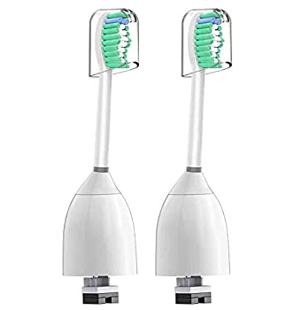 E Series Brush Heads Compatible with Philips Sonicare Essence Xtreme Elite and Advance Tootbhrush - Pack of 2