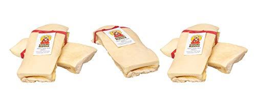 Barking Buddha Beef Cheek Slices, Small, Rawhide Alternative Dog Chews