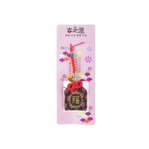 Talisman JAPONAIS – Omamori de la Felicidad – Amuleto japonés Tradicional