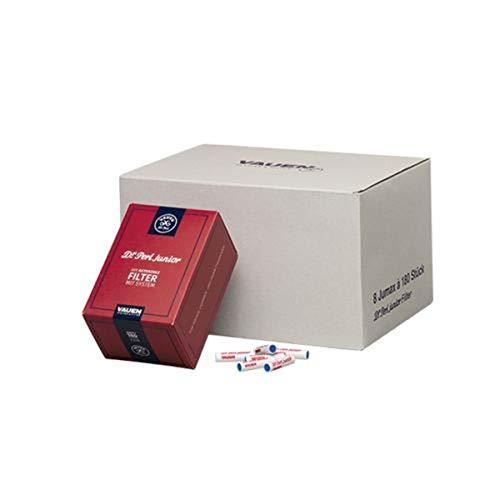 Dr. Perl Filter Junior Aktivkohlefilter groß-9 mm-Ju-Max 2 x 180er-Vauen, Kohlenstoff, Rot, 10 x 8 x 5 cm