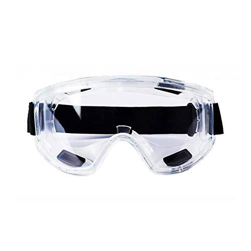 SunAll Transparentes Gafas de seguridad anti-salpicaduras resistente a los impactos Seguridad en el Trabajo de protección de los vidrios por carpintero jinete ojo protector, gafas de seguridad