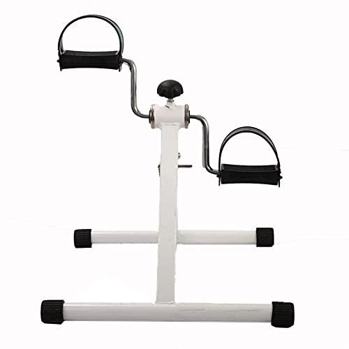 FZYE Up-Down Stepper Mini Bicicleta estática Debajo de la Mesa con Resistencia Ajustable y Almacenamiento Plegable, Gimnasio portátil, Oficina, hogar, Interior, Fisioterapia, Fitness, p