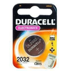 Duracell Lithium-Knopfzelle DL2032 / CR2032 mit 3V