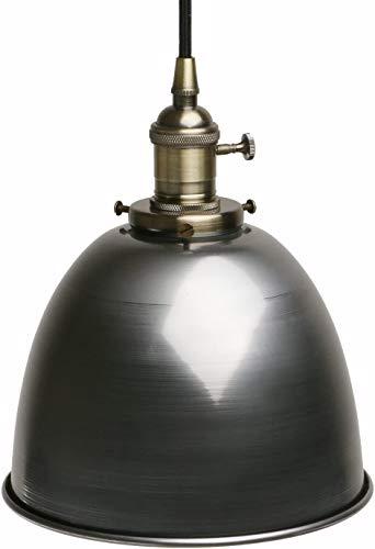 Raelf Bar Loft Industrial araña de Isla de Cocina Viejo Antiguo de Hierro Forjado lámpara de suspensión Cabeza Solo Interruptor Accesorio de la lámpara de la lámpara de Metal Edison iluminación de la