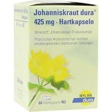 Johanniskraut (Hypericum) 425mg Spar-Set 2x100Hartkapseln zur pflanzlichen Behandlung bei...