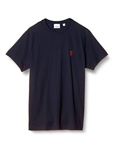 [バーバリー] 8014022 PARKER Tシャツ 100% COTTON メンズ NAVY 日本 S (日本サイズS相当) [並行輸入品]