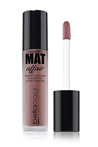 Bellaoggi Mat Affair - Pintalabios líquido película fina No. 003, 20 g