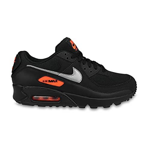Nike Air Max 90 Mesh GS, Zapatillas para Hombre, Negro , 48.5 EU