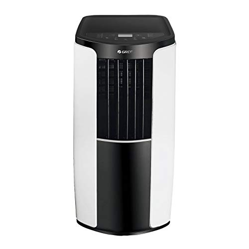 Gree GRPE08SHR4W 8,000 BTU Portable Air Conditioner Dehumidifier Combo Room AC Unit (Renewed)