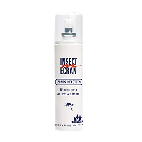 Insect Ecran Zones Infestées Répulsif Peau Adultes & Enfants 100 ml