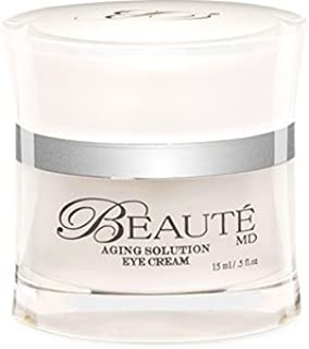 BeauteMD Eye Cream - All Natural Stem Cell based with Organic Ingredients - Eye Intensive Moist Formula by Top US Dr. - Ge...