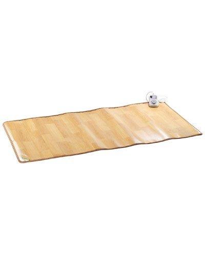 infactory Beheizbare Bodenmatte: Beheizbare Infrarot-Fußboden-Matte, 105 x 200 cm, bis 50 °C, 550 Watt (Infrarot Bodenmatte)