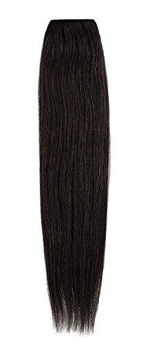American Dream original de qualité 100% cheveux humains 50,8 cm soyeuse droite trame Couleur 1B – Noir naturel