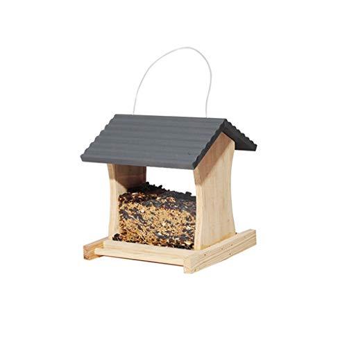 JXXDDQ Mangeoire à Oiseaux extérieur Mangeoire à Oiseaux Sauvage Jardin Villa Jardinier Nourrissant des Oiseaux