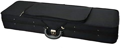 Fashion Square Shape Nylon Voilin Bag Black Violin Case Professional Violin Hard Case Great product image