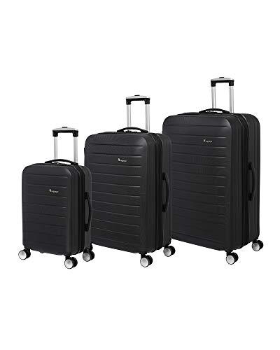 it luggage Legion 3 Piece Hardside Expandable Set, Moonless Night