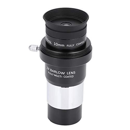 Voluxe Plossl - Ocular telescópico de 4 mm, 2 lentes Barlow para oculares telescópicos