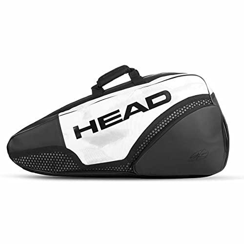 HEAD Djokovic 12R Monstercombi Tennis Racquet Bag – 12 Racket Tennis Equipment Duffle Bag