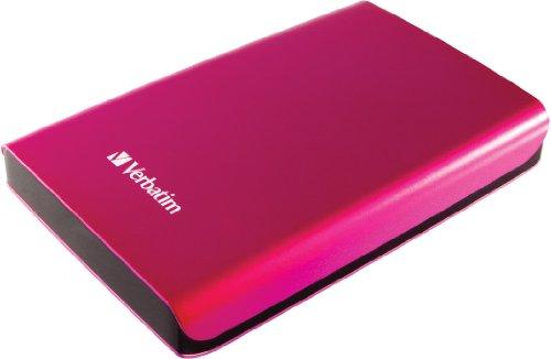 Verbatim Store 'N' Go - Hard Disk Esterno Portatile, USB 3.0, Rosa, 1 TB