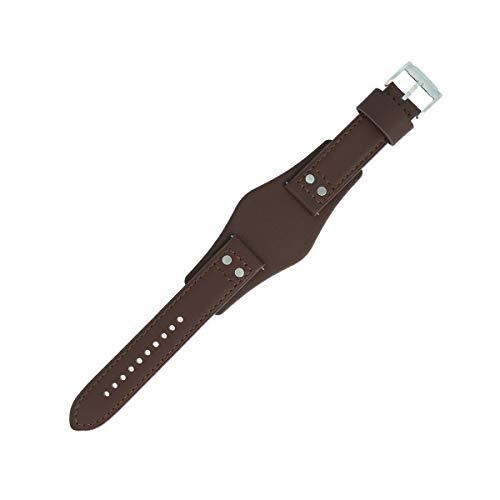 Fossil, cinturino per orologio, 22mm, in pelle color marrone,set cinturino CH-2565 | LB-CH2565