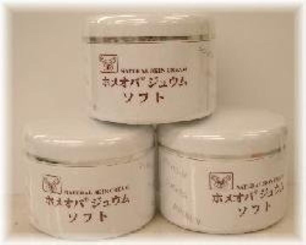 遊び場フォーラムビザホメオパジュウム スキンケア商品3点¥10500クリームソフトx3個
