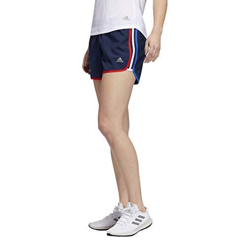 adidas Damen Marathon 20 Shorts, Damen, Marathon 20 Short Champion Women, Collegiate Marineblau, Medium 4