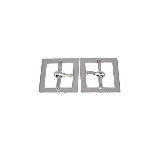 WedDecor metalen 20mm Single Prong Riem Gesp voor Riemen, Mode accessoire, Rugzak, Huisdier kraag, Laarzen, Handtassen, DIY project, Zilver