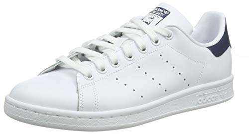 adidas Stan Smith, Sneakers Basses Homme,Blanc (STAN SMITH RUNWHI/RUNWHI/NEWNAV) 40 EU (6.5 UK)