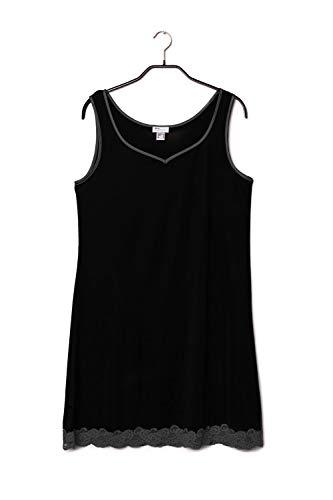 Gattina Nachthemd, breite Träger Größe 36, Farbe Black