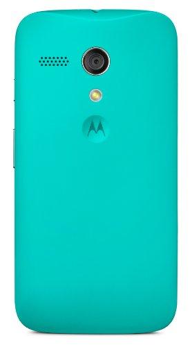 Motorola Color Clip-On Shell Hülle Schale Case Cover für Moto G Smartphone - Türkis