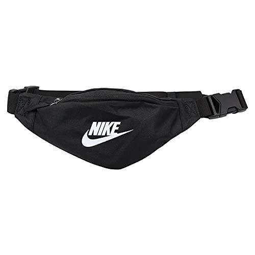 Nike Heritage S Gürteltaschen, Black/Black/White, One Size