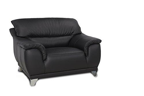Cotta Sofa, Leder, Schwarz