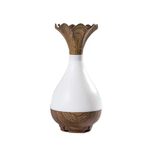 Humidificador Ultrasónico Aroma humidificador de madera creativo del dormitorio del hogar eléctrico...