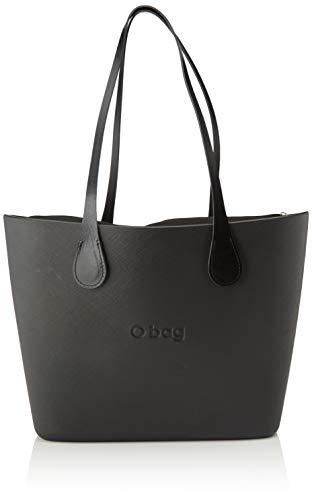 O bag Urban, Damen Handtasche, Schwarz, Unica