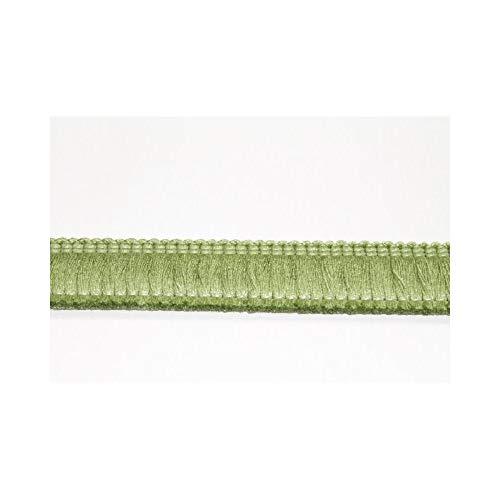 Zahnbürste, fransen und borten für kissen, teppiche hoch, 3 cm polsterung - Verde Felce