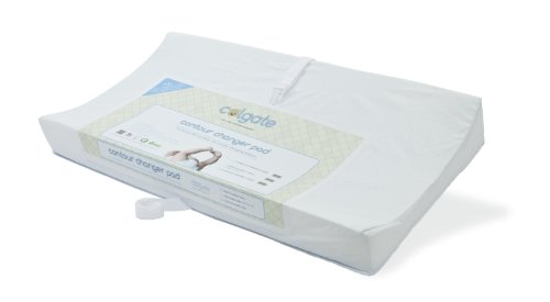 2-Sided Contour Changing Pad by Colgate Mattress   Easy to Clean   Hypoallergenic
