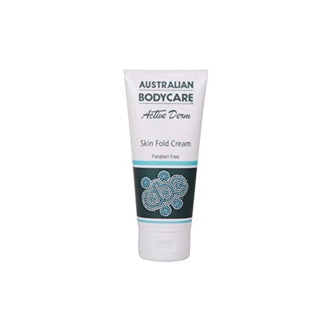 ちなみに嫌がる間に合わせAustralian Bodycare Active Derm Skin Fold Cream (100ml) (Pack of 6) - オーストラリアのボディケアアクティブダーム皮膚のひだクリーム(100ミリリットル) x6 [並行輸入品]