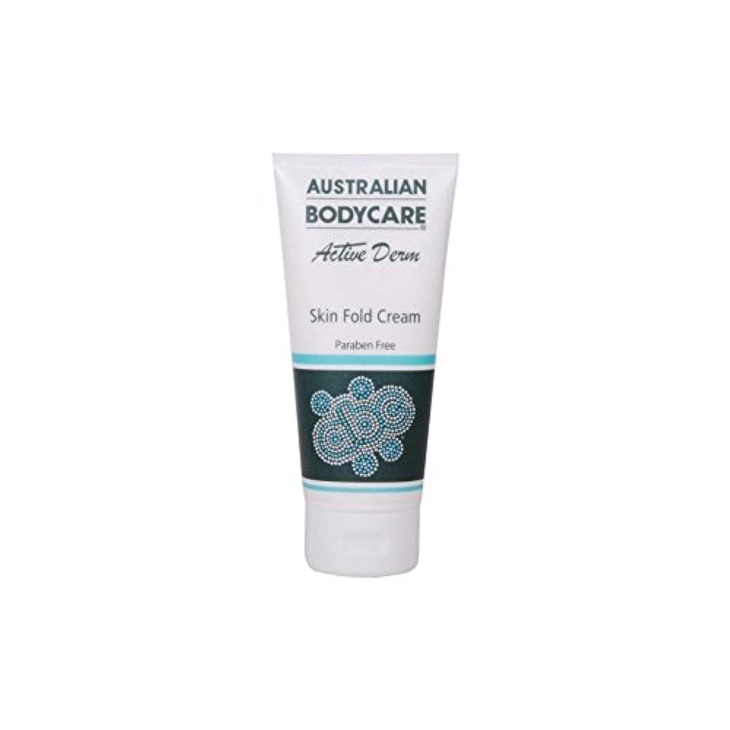 壁決定する調整可能オーストラリアのボディケアアクティブダーム皮膚のひだクリーム(100ミリリットル) x4 - Australian Bodycare Active Derm Skin Fold Cream (100ml) (Pack of 4) [並行輸入品]