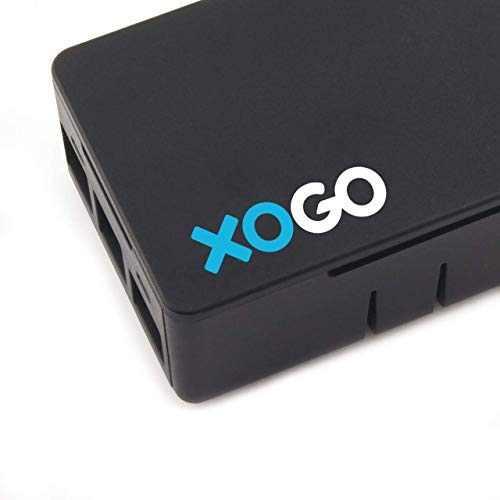XOGO Mini Digital Signage Player | 4K | Premium 4GB Memory | Full Kit - Simply Plug in and Follow on-Screen Directions | Centralized Cloud Management | Use Free or PRO Account