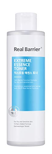 Real Barrier Extreme Essence Toner 190ml (2-in-1: Essence + Toner) - K-Beauty Anti-Aging Serum/Gesichtswasser mit Hyaluronsäure für empfindliche Haut