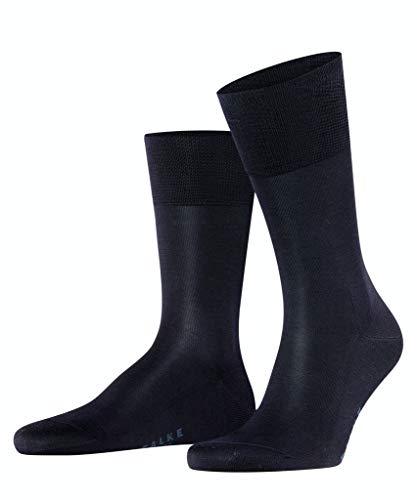 FALKE Herren Business-Socken Tiago 14662 12 Paar, Farbe:Blau;Sockengröße:43-44;Artikel:-6370 dark navy