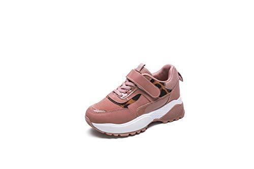 Rock & Joy – Zapatillas unisex para niños y niñas, a la moda – Zapatillas de deporte para running, para Dad Shoes – Par de zapatos para niño, unisex, talla 34, color rosa