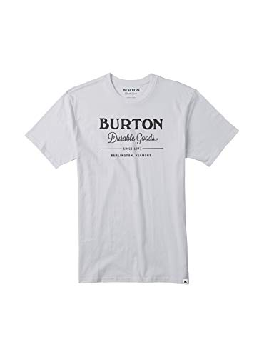 Burton Herren Durable Goods T-Shirt, Stout White, M