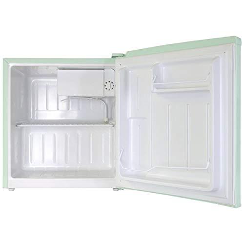 エスキュービズムA-Stage1ドアレトロ冷蔵庫48LライトグリーンWRD-1048GS-cubism